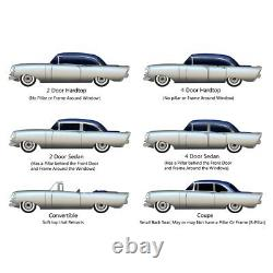 Heater Box Seal Kit for 1958 Chevrolet Deluxe 5 Piece Made in USA