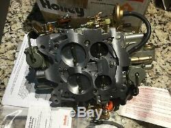Holley 650 CFM Classic Spreadbore Design Electric Choke Vacuum Carburetor