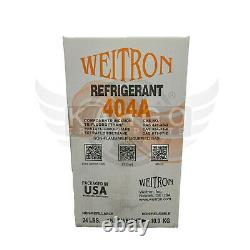 Hvac/r R404a Refrigerant Gas 404a 24lb Factory Sealed (made In Usa)