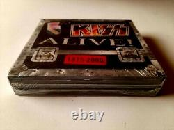 KISS Alive! 1975-2000 4CD Set 2006 Made in USA Brand New Sealed
