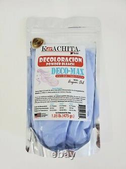 Kachita Spell Powder Bleach Blue 1.05Lb Made in USA Original SEAL Decoloracion
