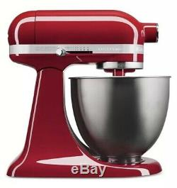 KitchenAid KSM3311XER Artisan Mini Empire Red New And Sealed! USA Made