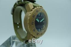 Kobold Soarway Seal Bronze Diver 2 Straps 44mm Made USA Limited Rare Bronzo