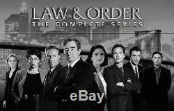 Law & Order The Complete Series 104 DVD season 1 thru 20 U. S. MADE New Sealed