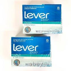 Lever 2000 Original Bar Soap Boxed Made In USA OLD FORMULA (16 Bars) Sealed Box