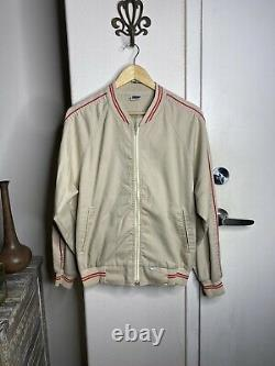 Levi's Vintage Clothing Sealed Bomber Jacket Levis Large Made In The USA Red/Tan
