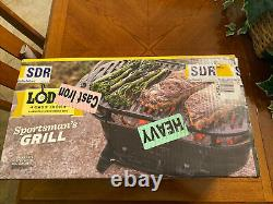Lodge Sportsman Cast Iron Grill (new In Factory Sealed Box) Made In USA