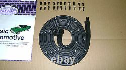 MADE IN USA Weatherstrip Kit 4pc Door Roofrail 66-67 Chevy 2 II Nova In Stock