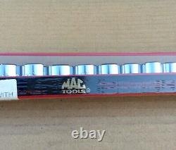 Mac Tools Socket Set 3/8 18pc Metric 6pt SXM186TR New Sealed USA Made