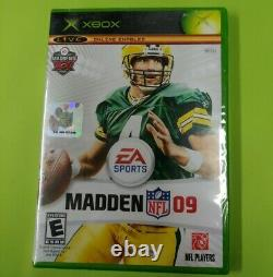 Madden NFL 09 (Microsoft Xbox, 2008) Factory Sealed NEW Last OG Xbox Game Made