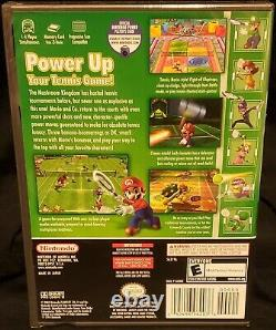 Made In Japan factory sealed Mario Power Tennis Nintendo gamecube. Excellent