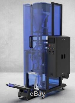 Made in USA WrapSense PVA Film Vertical Form Fill Seal Powder Packaging Machine