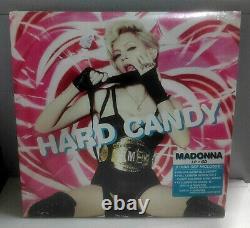 Madonna Hard Candy 2008 3 Lp + CD Made In USA Rare Sealed Sigillato