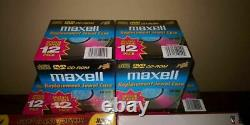 Maxell CD Jewel Cases Made in USA 20 Year Vintage BRAND NEW SEALED RARE