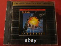 Mfsl-udcd-520 Def Leppard Pyromania (gold-cd / Made In USA / Factory Sealed)