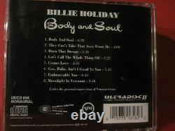 Mfsl-udcd 658 Billie Holiday Body And Soul (gold-cd/made In Usa/sealed)