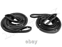 Molded Door Seals, Pair R&L, Fits1989-1995 Toyota Pickup, 4Runner USA made