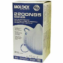 Moldex 2200N Resp Sealed New Long Expiration Date Made In USA M/L 20/PK