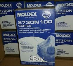 Moldex 2730 Box of 5 Sealed. Made In USA Brand New Exp. 07/2024 SHIPS SAME DAY