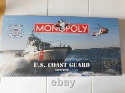 Monopoly U. S. COAST GUARD Edition Board Game Made in USA New Sealed