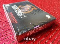 Mortal Kombat 3 snes brand new factory sealed rare made in mexico