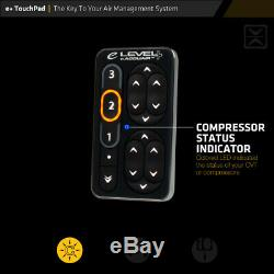 NEW Accuair e-Level+ with ECU TouchPad+ and Sensors