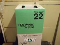 NEW BOXED SEALED R-22 Refrigerant 30 LB Cylinder of R 22 USA MADE R22