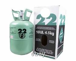 NEW R22 refrigerant 10 lb. Factory sealed made in USA FREE SAME DAY SHIPPING
