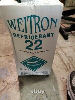 NEW R22 refrigerant 10 lb. Factory sealed made in USA virgin pure freon
