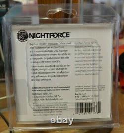 NEW SEALED Nightforce Ultralite 1.125 High 34mm Ring Set A224 USA MADE free ship