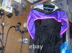 New Os Ststems Drysuit With Rubber Seals & Socks Unisex Size Medium USA Made