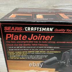 New Sealed Vintage Craftsman Biscuit Plate Joiner, 917501 10,000 RPM USA Made