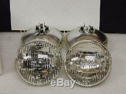 New USA made Guide T3 Correct Headlight Bulb Set 1960-67 Corvette Sealed Beam