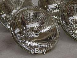 New USA made Guide T3 Correct Headlight Bulb Set 1960-71 Corvette Sealed Beam