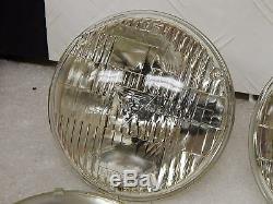New USA made Guide T3 Correct Headlight Bulb Set 1964-67 Chevelle Sealed Beam