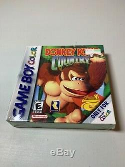 Nintendo Game Boy Color Donkey Kong Country Made by Rareware New Sealed