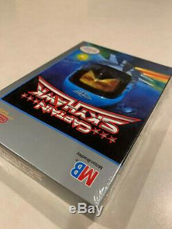 Nintendo NES Captain Skyhawk Brand New sealed 1989 Made By Milton Bradley H-Seam