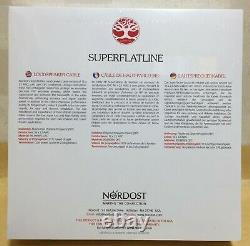 Nordost Super Flatline speaker cables 2.5m pair brand New Sealed made in USA