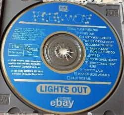 PETER WOLF Lights Out 1984 RARE CD I Need You Tonight Made in Japan J. Geils $$$