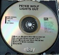 PETER WOLF Lights Out 1984 RARE CD I Need You Tonight Made in USA J. Geils $$$
