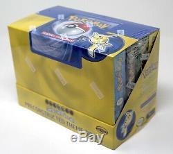 Pokemon SEALED Base Set Theme Deck Box, 8X Theme Decks per Box, RARE Made in USA