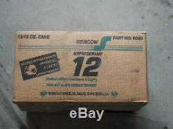 R12 Refrigerant Sealed Case (12) 12oz cans by Sercon-Made in USA