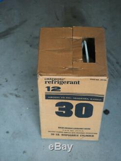 R12 refrigerant 30lb-New-Sealed-Chargette-Made in USA