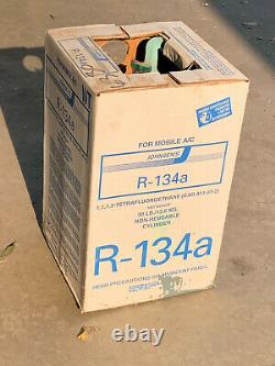 R134A Refrigerant R-134A 30LB Sealed Tank R12 Replacement Made in USA 36 lb 7 oz