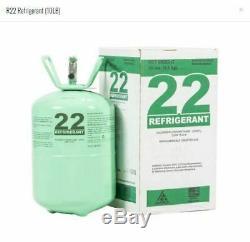 R22 R-22 R 22 Refrigerant 10lb Cylinder (Made in USA) Sealed