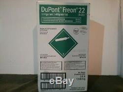 R22 Refrigerant DuPont Freon FULL 30 lb SEALED IN BOX! MADE IN USA, SHIPS FAST