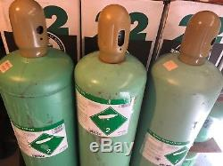 R22 Refrigerant Sealed Virgin New 5 Pound Cylinder Made in the USA FREON