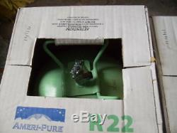 R22 r 22 USA MADE Sealed Freon 37LB box Refrigerant air conditioner 1 DAY SHIP