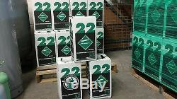 R22 refrigerant 5 lb. Factory sealed Virgin made in USA SAME DAY SHIPPING