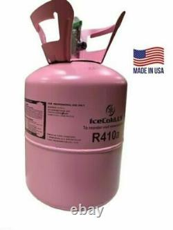 R410a, R410a Refrigerant 11lb tank. New Factory Sealed Lowest Price Made USA